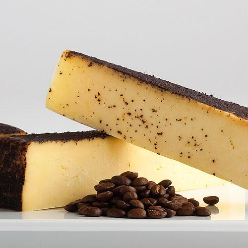 Beehive's Barely Buzzed cheese is infused with coffee and lavender.