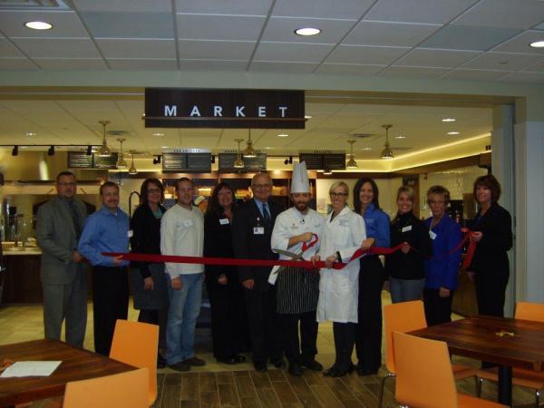 Harvest Market grand opening.