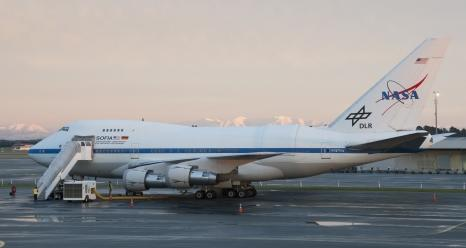 NASA's SOFIA aircraft will take two Milwaukee educators and others into the stratosphere to collect data on the universe using a special infrared telescope.