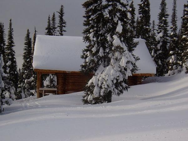 Unrelated to his North Woods cabin, essayist George Berdes is experiencing some cabin fever.