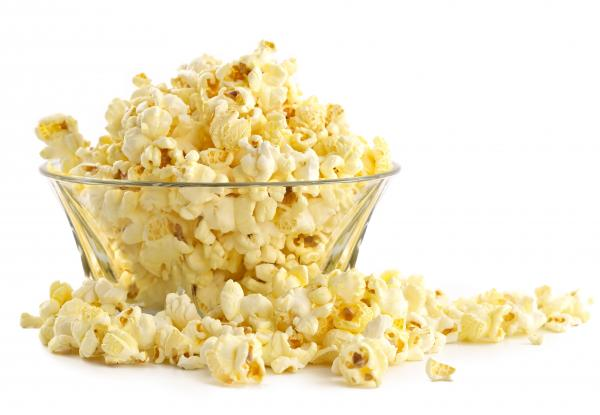 Stay warm with a movie and some popcorn.