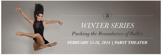 Milwaukee Ballet's 2014 Winter Series focuses on pushing the boundaries of traditional ballet.
