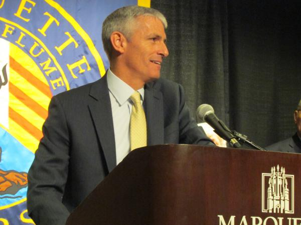 Mike Lovell announced as new Marquette University president