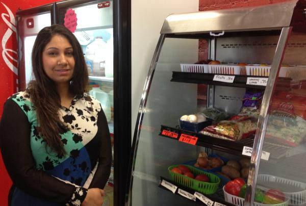 Jas Kirantoor hopes to get more fruit and vegetables into the hands of Merrill Park residents