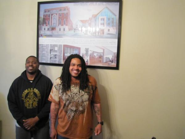 Cousins Toussaint Harris (left) and Devon Jones are determined to make a difference through Mission Man Up.