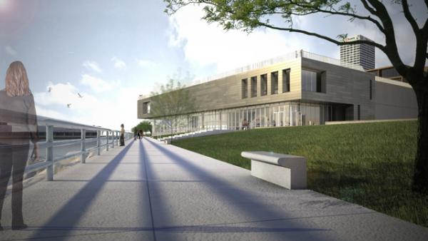 Revamped designs for the addition to the Milwaukee Art Museum just have been released.