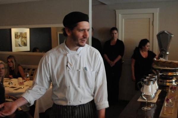 Chef Justin Aprahamian