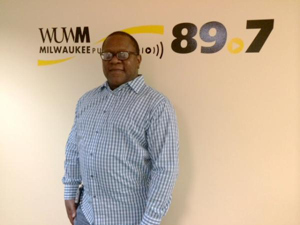 Corky Morgan in the WUWM studios.