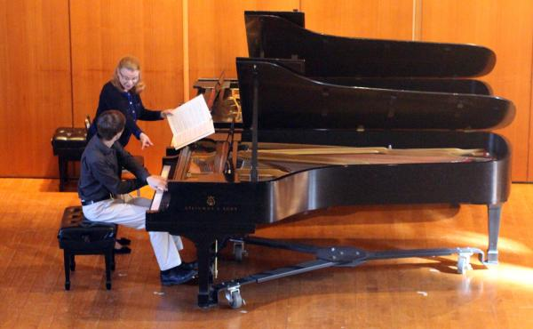 Pianist Lydia Artymiw is a judge for this year's PianoArts competition for young musicians.