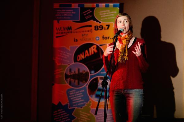 Ex Fabula storyteller Lauren Poppen