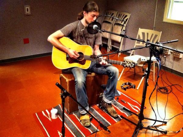 Joseph Huber in WUWM's Performance Studio