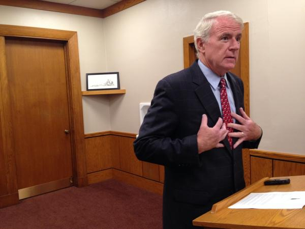 Milwaukee Mayor Tom Barrett says the city's new sex offender residency restrictions will protect residents.