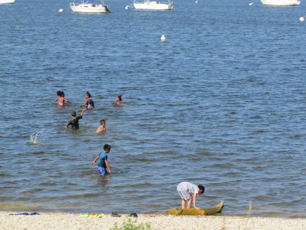 A summer's day at South Shore Beach
