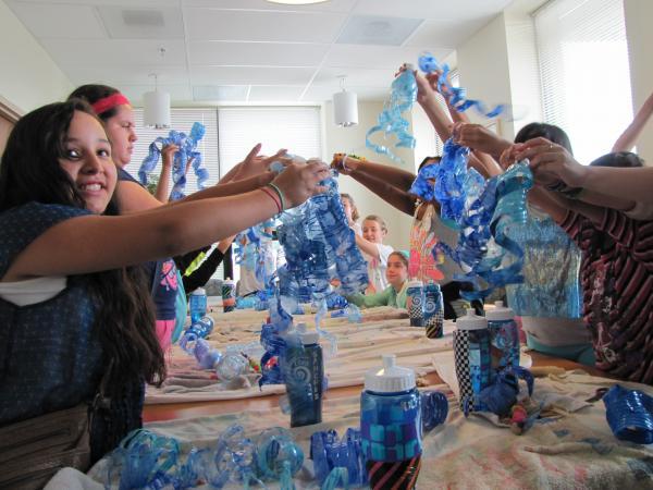 Core El Centro summer campers explore WATER!