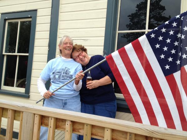 Marilyn Riggs (left) & Veronica Duvall