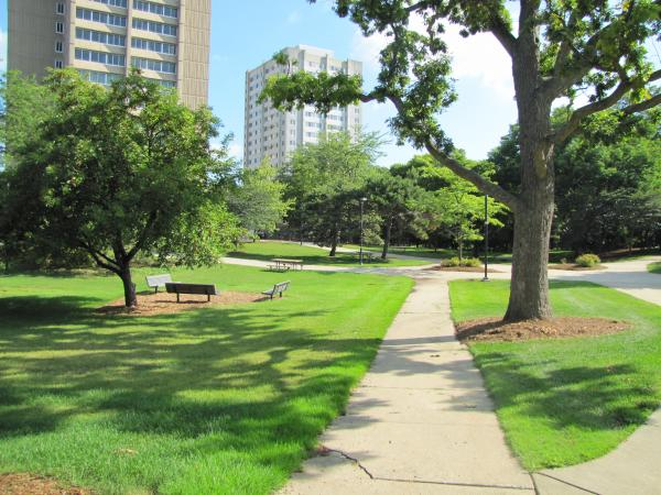 UW-Milwaukee is trying out natural lawn care on its 23-acre Kenwood campus.