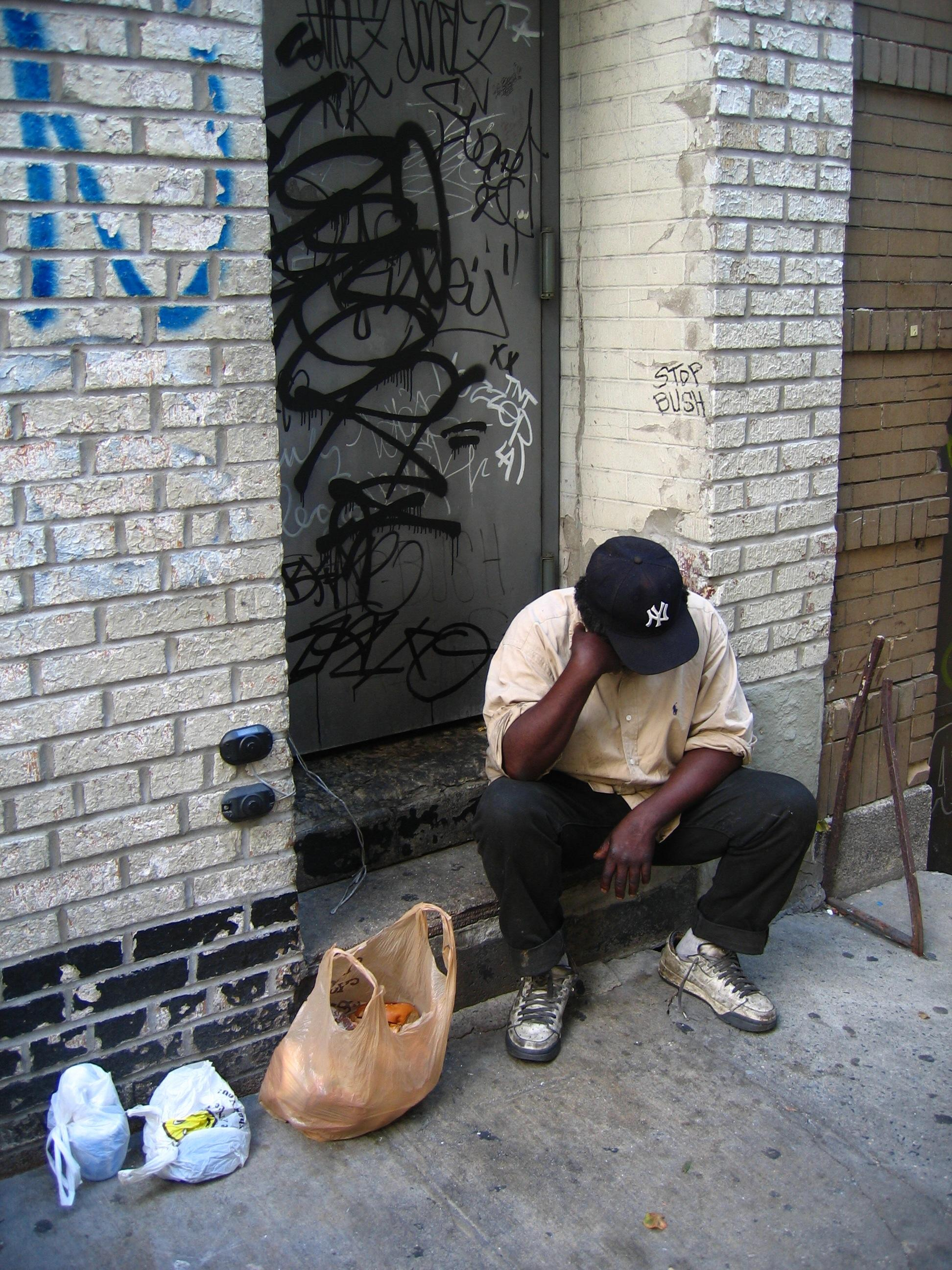 Does poverty foster crime