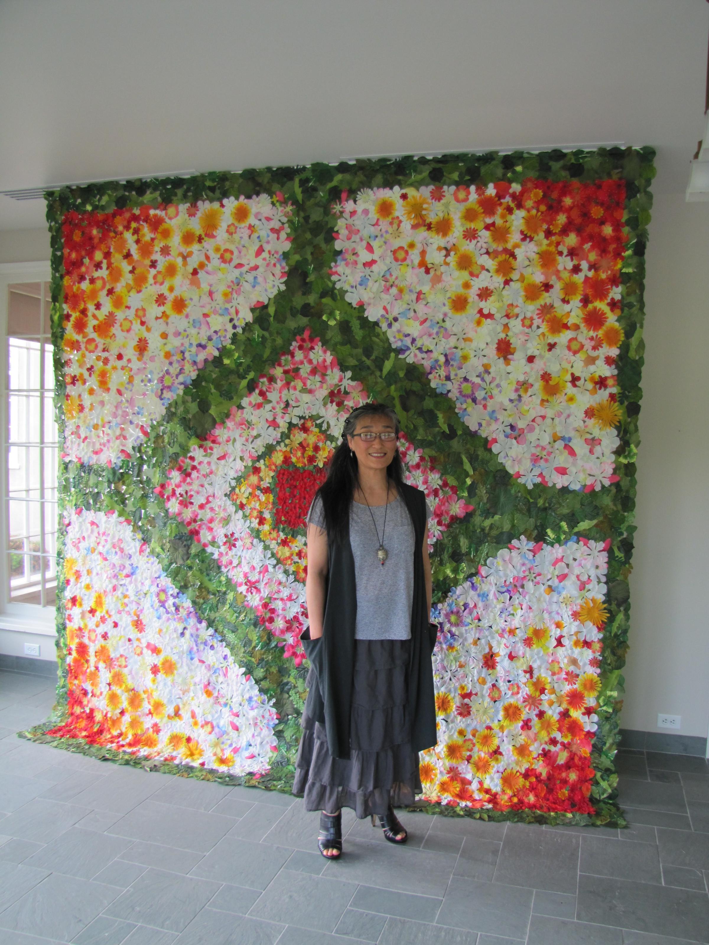 Fiber Artist Folds Nature Into Lynden Sculpture Garden