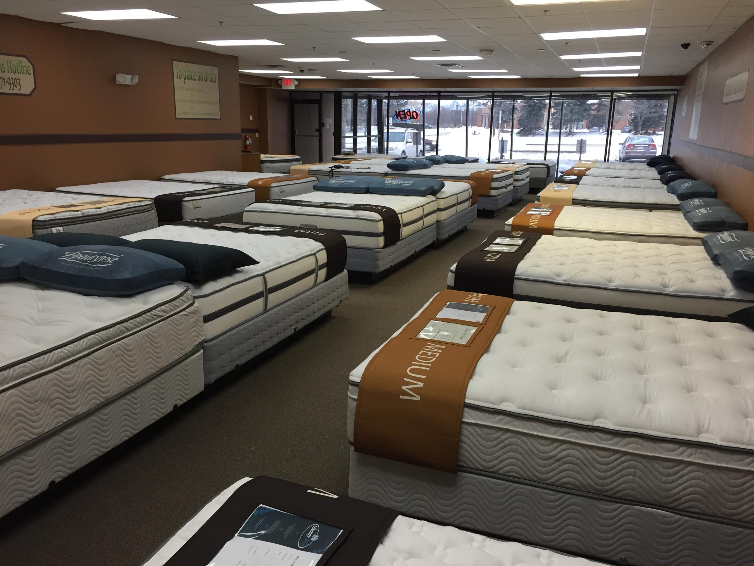 more img and the contact mattress store