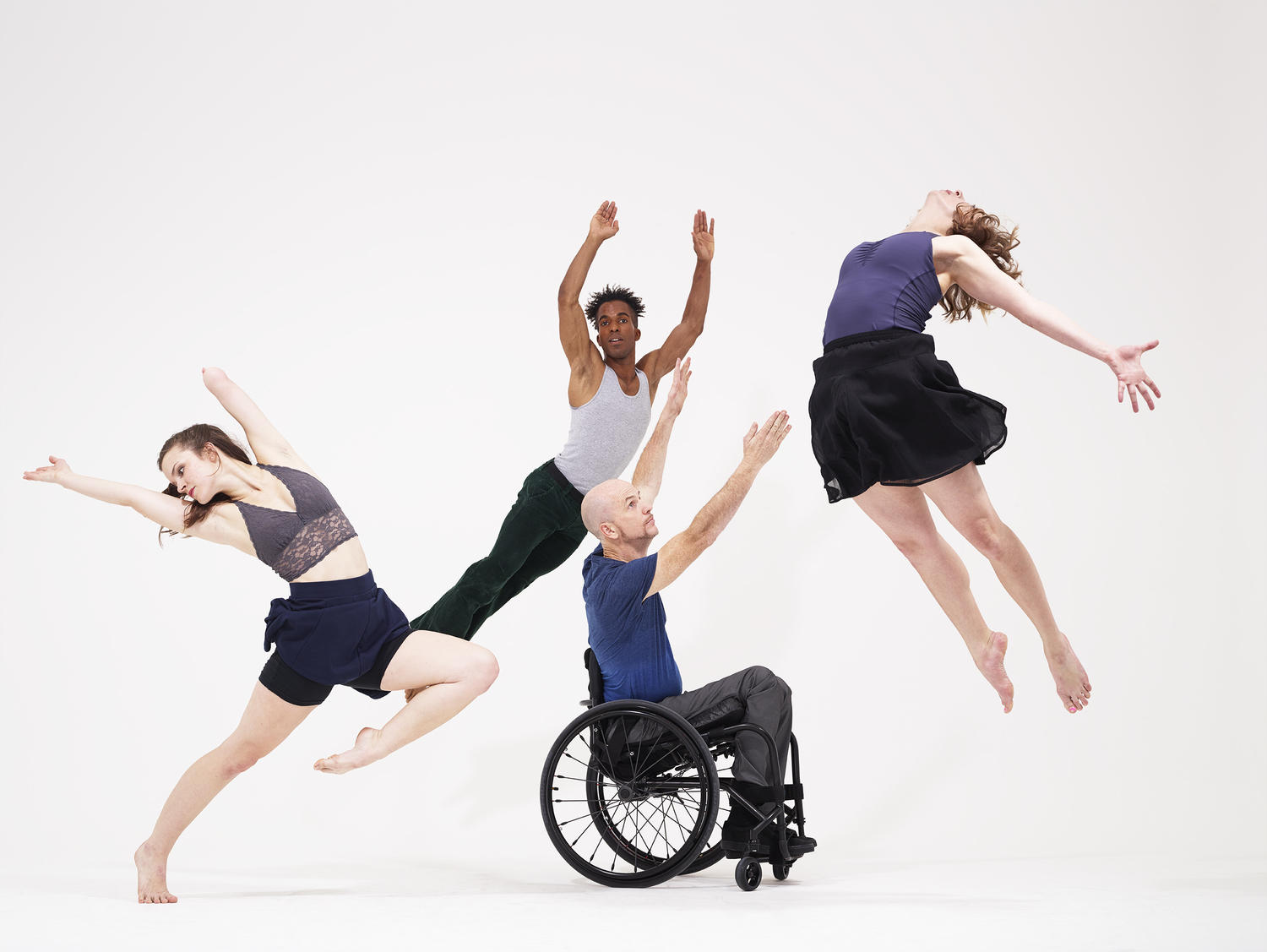 Axis Dance Company Incorporates Dancers Of All Physical