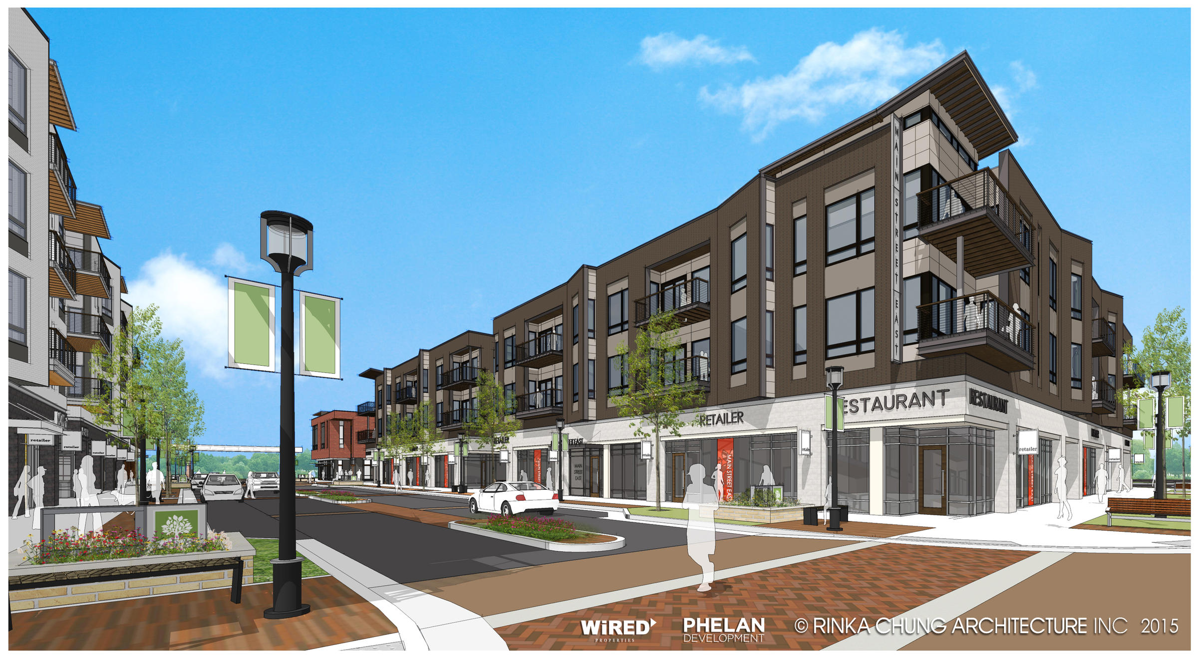 recreating a suburb oak creek seizes opportunity to develop town center wuwm. Black Bedroom Furniture Sets. Home Design Ideas