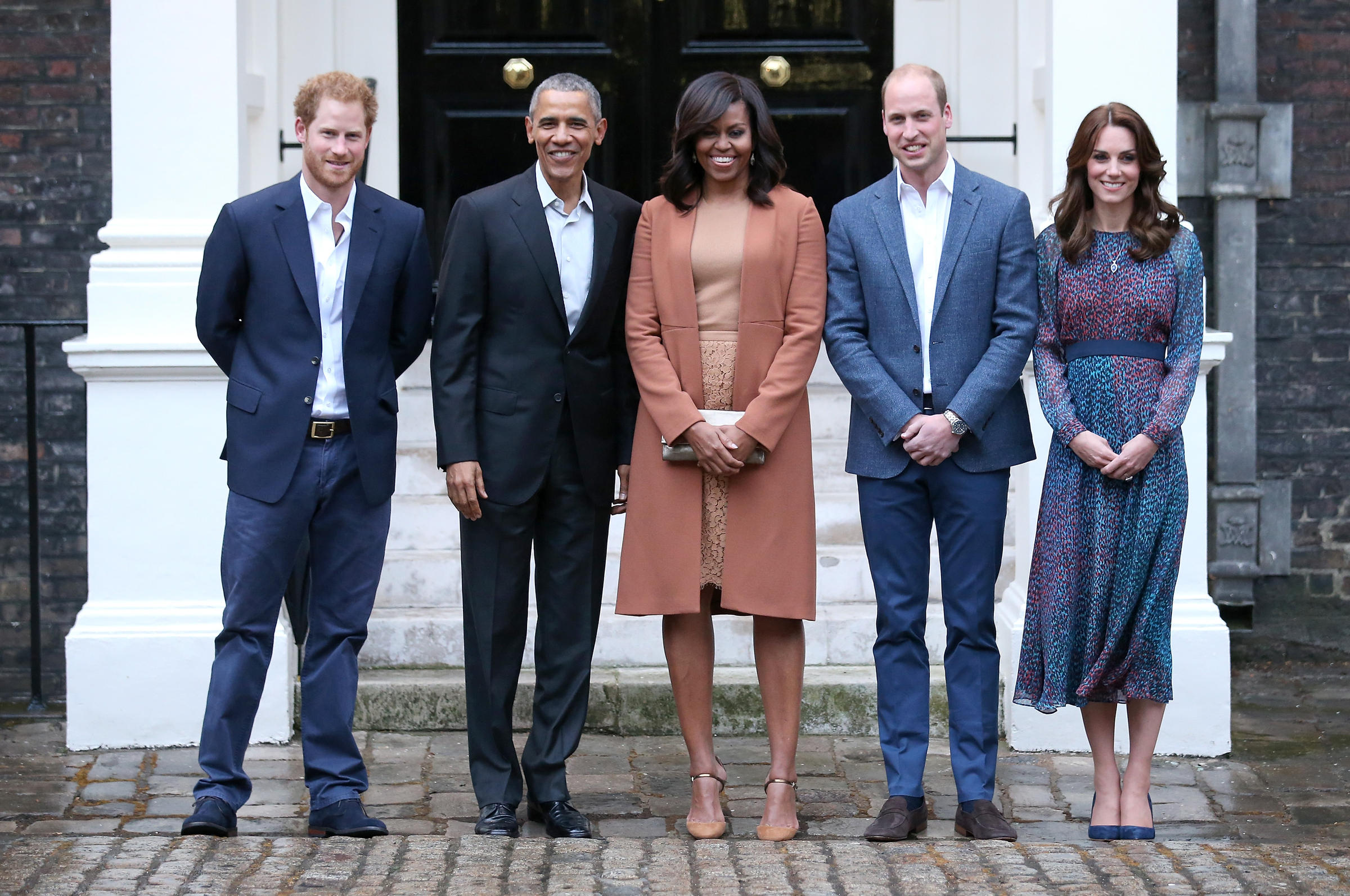 essay britain and the u s  prince harry us president barack obama first lady michelle obama prince william
