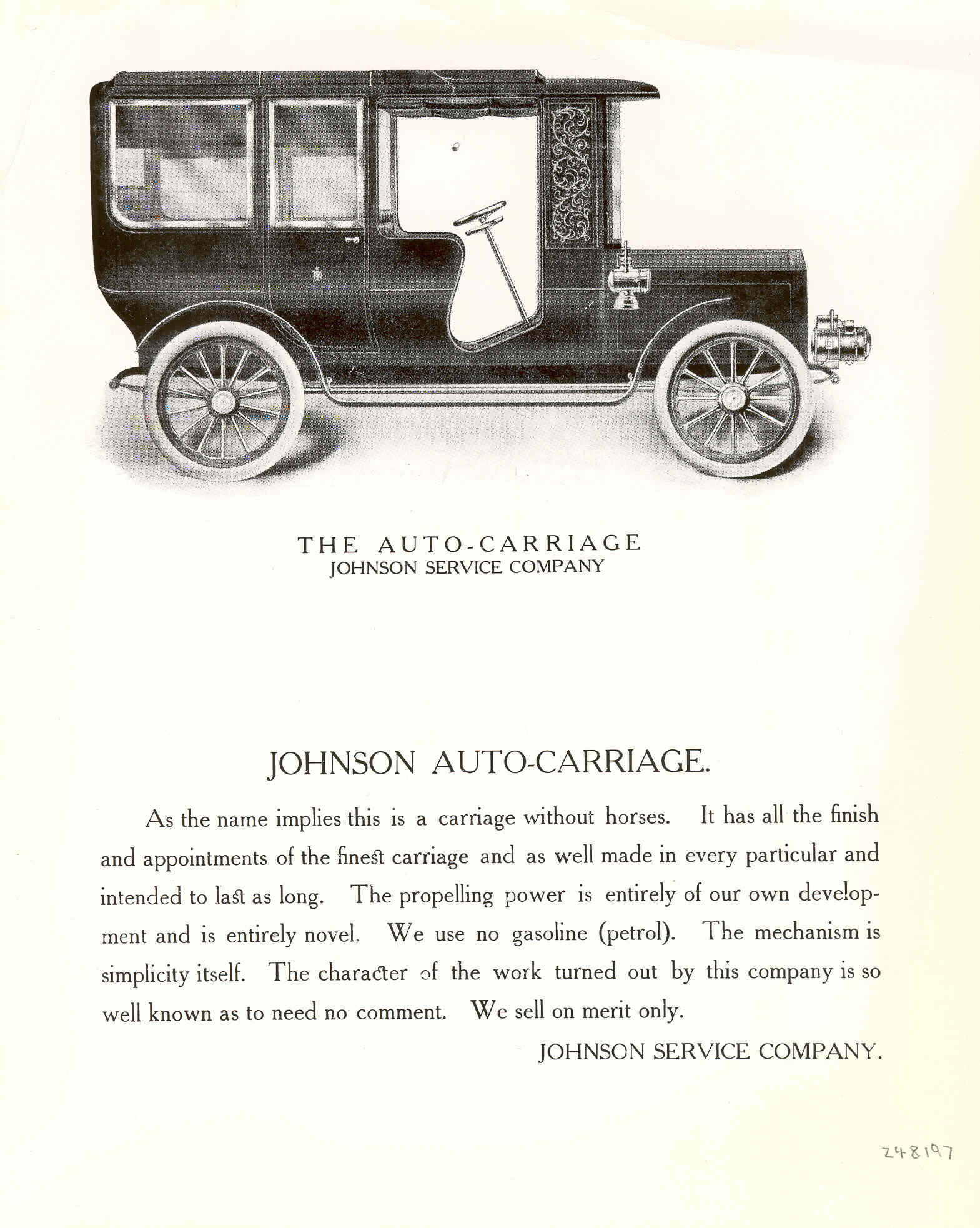 Auto Carriage Ad From Johnson Controls