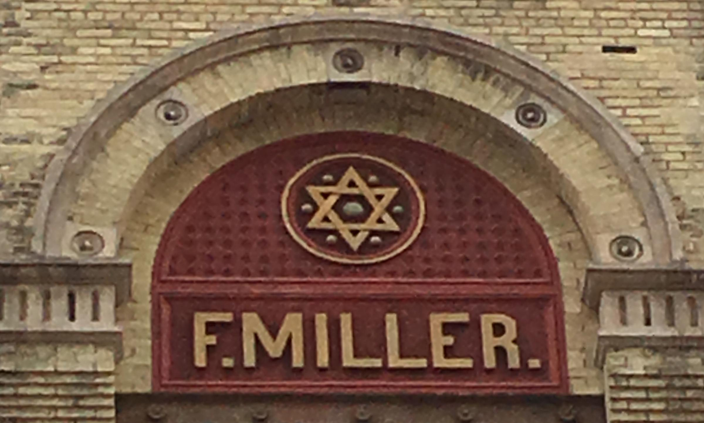Is There A Star Of David On The Original Miller Brewhouse Well Not