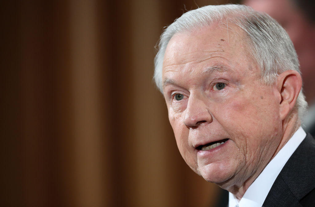 Jeff Sessions Testifies Before Senate Intelligence Committee