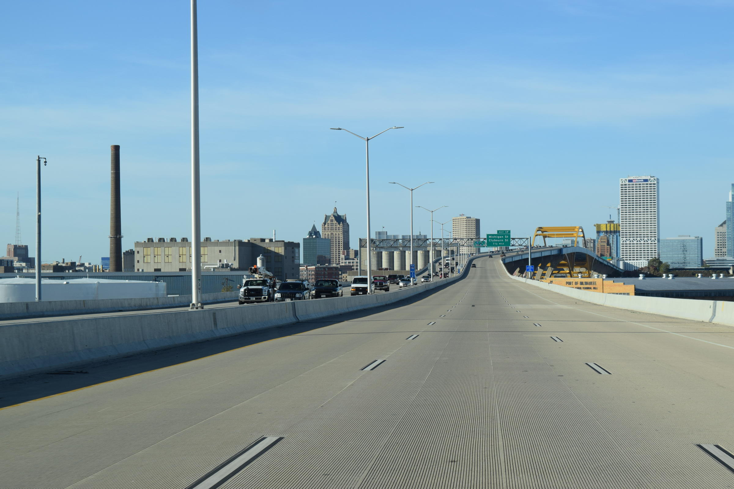 What's That Smell When You Drive Over Milwaukee's Hoan