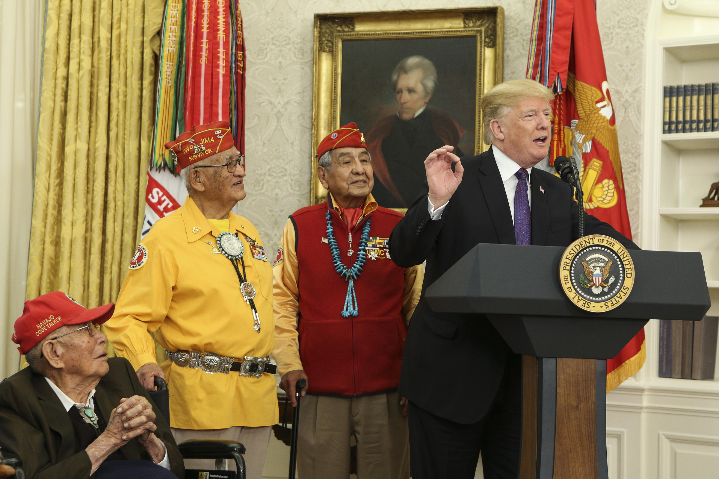 The Benefits Of Learning English Essay President Donald Trump R Speaks During An Event Honoring Members Of The  Native American Code Talkers In The Oval Office Of The White House On  November   Topics For High School Essays also Thesis Generator For Essay Essay American Indians Support Of The United States  Wuwm Essay Thesis Statement