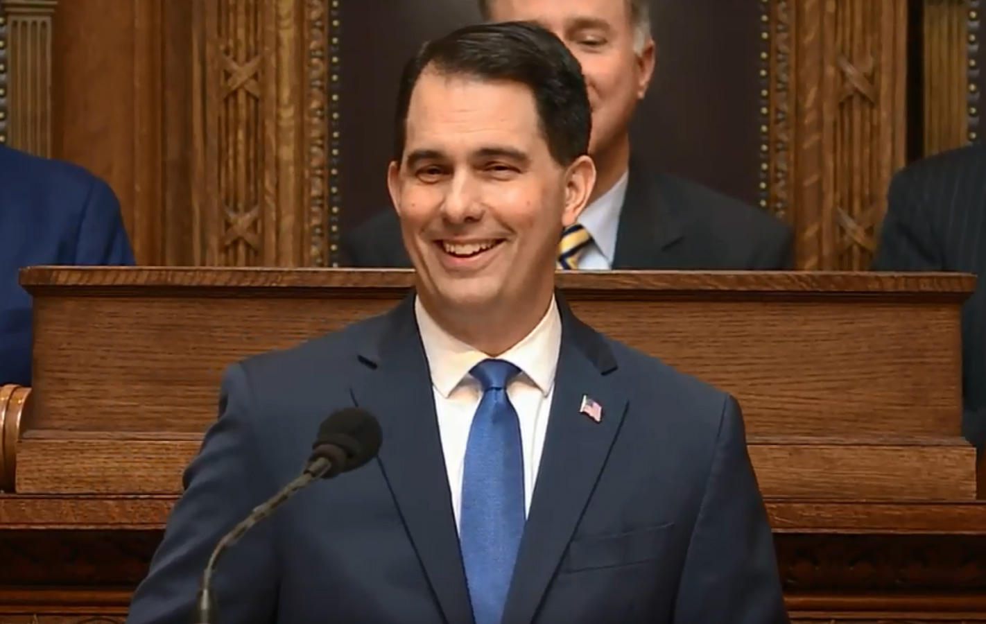 Wisconsin Hails Walker Welfare Reform Plan in State of State Address