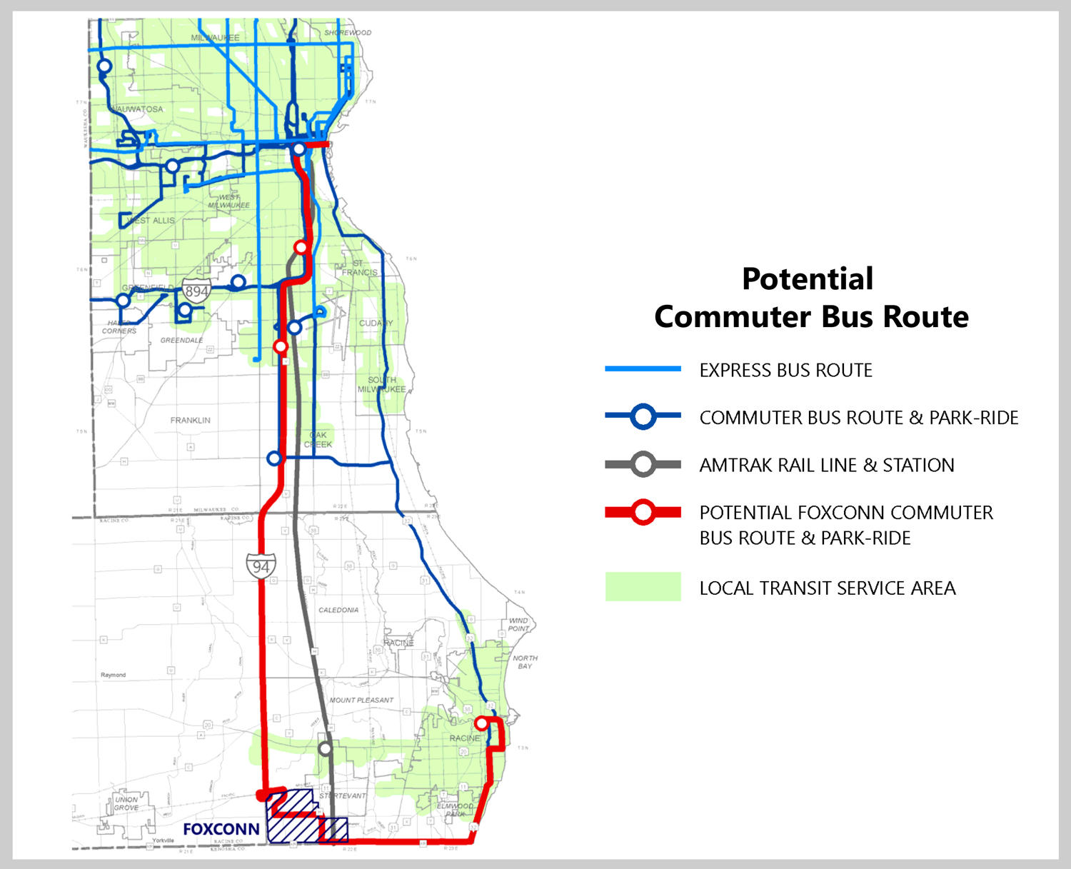 Planning Commission Weighs Transportation Options To From Foxconn