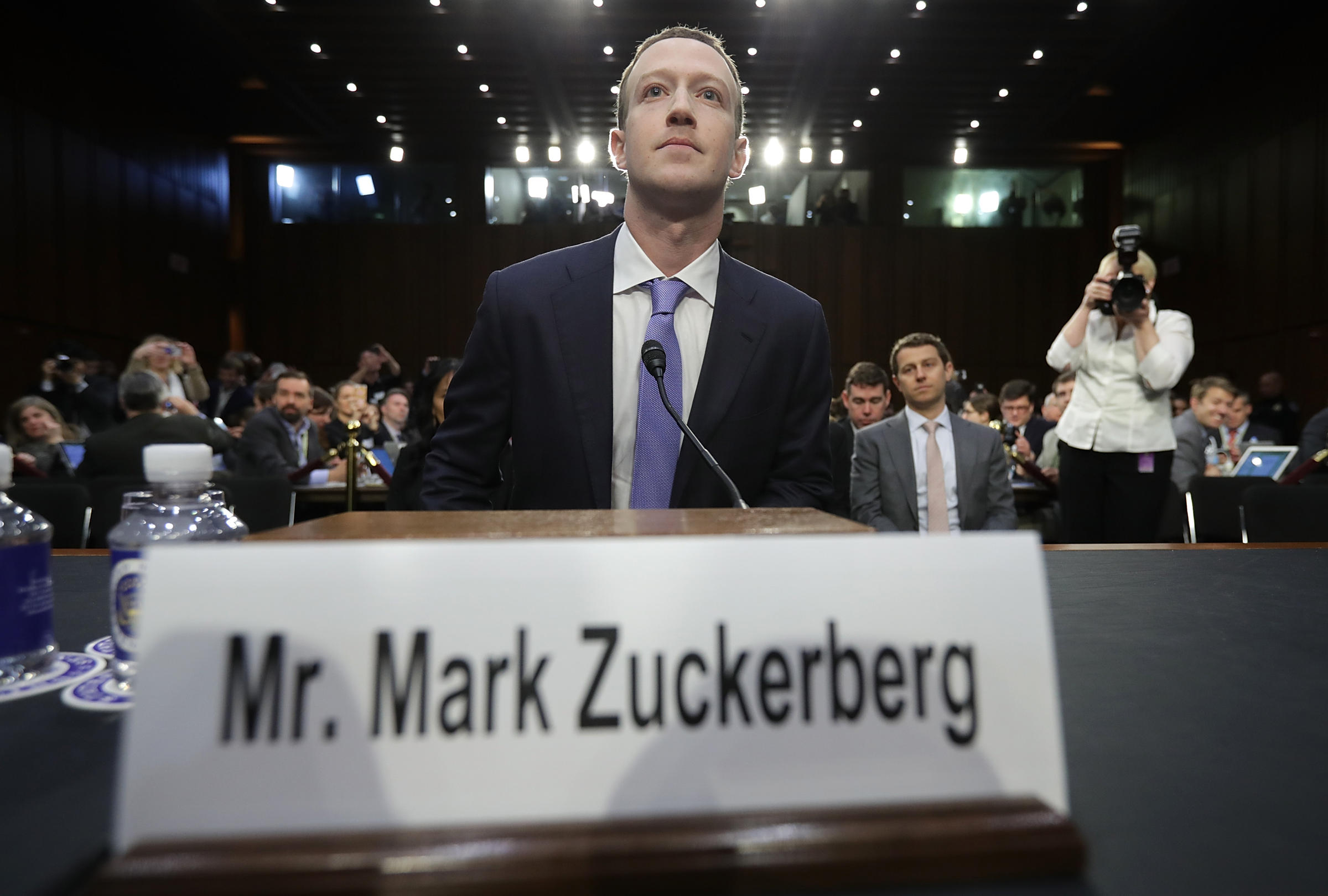 Mark Zuckerberg says Facebook could have done more to prevent misuse