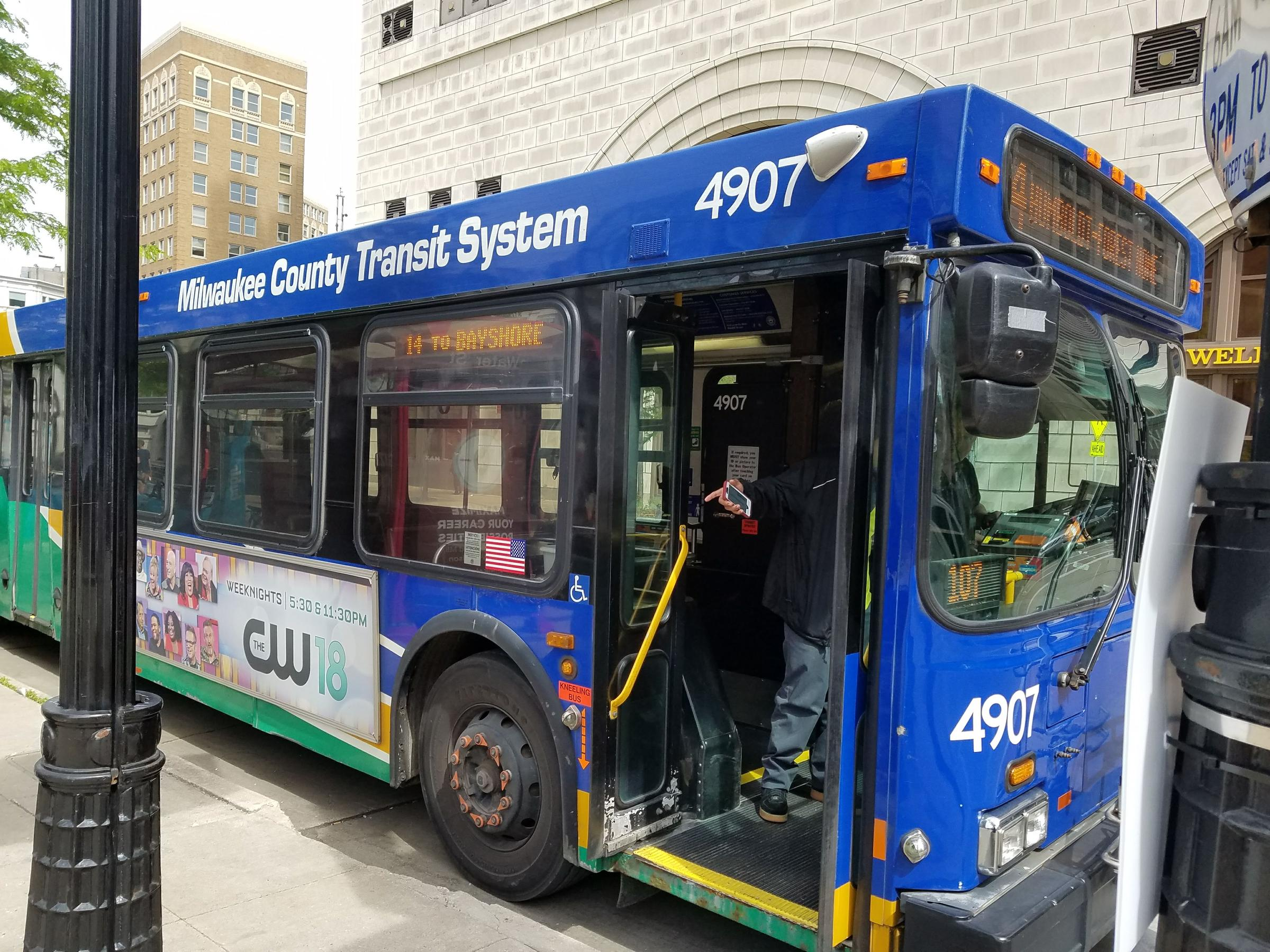 mcts next: a redesign of milwaukee county's transit system in the