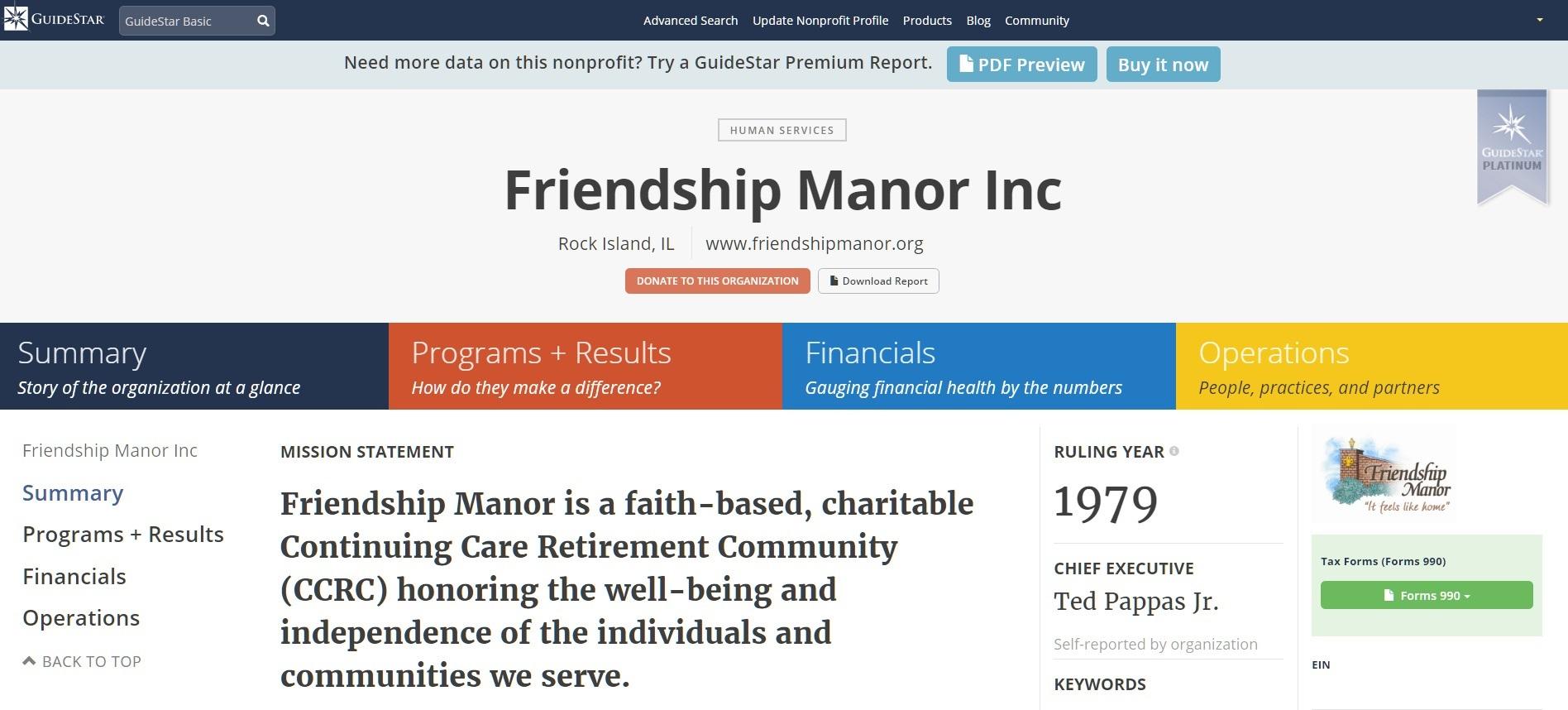 QCs Nonprofit Gets \