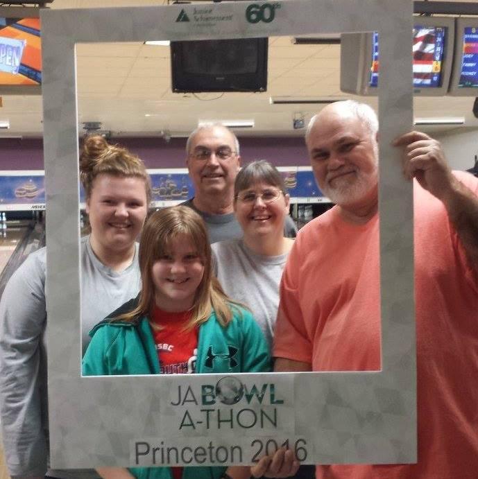 Pioneer Hybrid representatives at the Princeton, IL JA Bowl-a-thon
