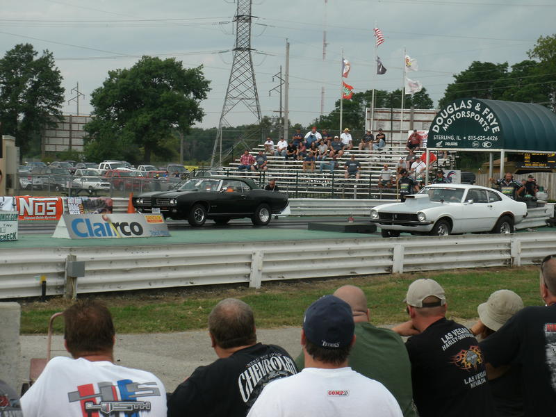 Fans watch races during the Hot Rod Drag Week at the Cordova International Raceway in 2015.