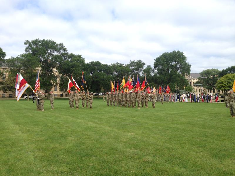 First Army change of command ceremony