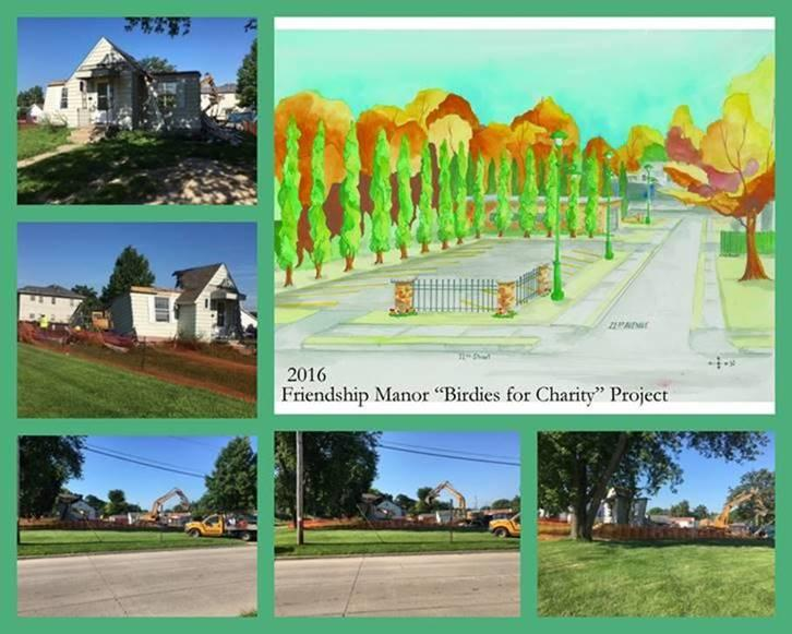 Images of house & lot where a new parking lot will be located on 21st Av. & 12th St.