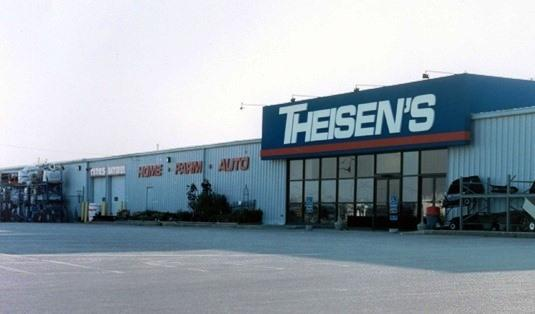 An Iowa Theisen's store