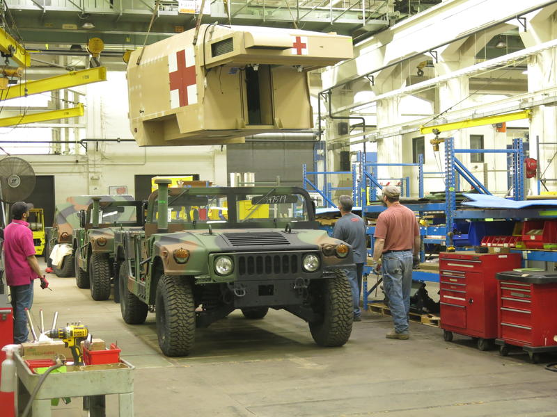 From a 2015 story when the Nat.Guard ordered more ambulances made at the Arsenal.