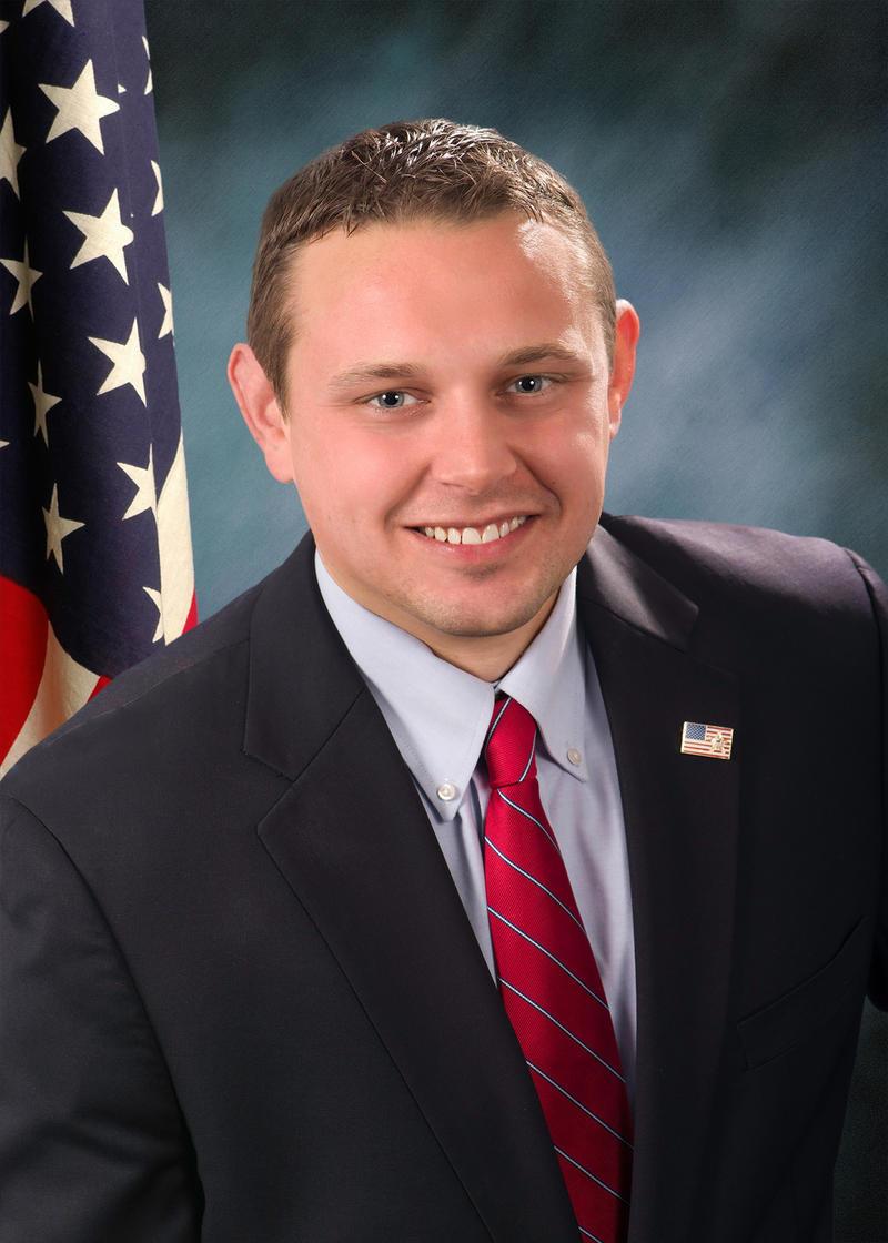 formal portrait of Illinois State Senator Neil Anderson, a republican