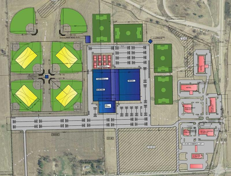 Site plan for BettPlex