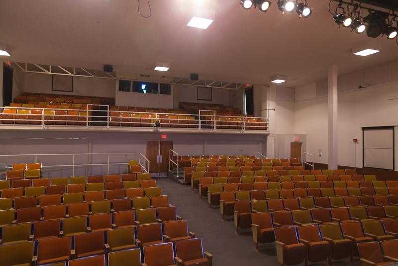 Inside The Nighswander Theatre