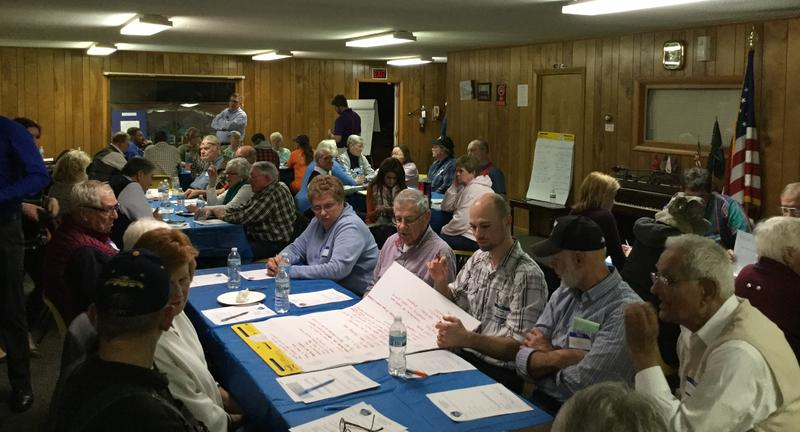 Mercer County Better Together held a meeting for Viola residents in February