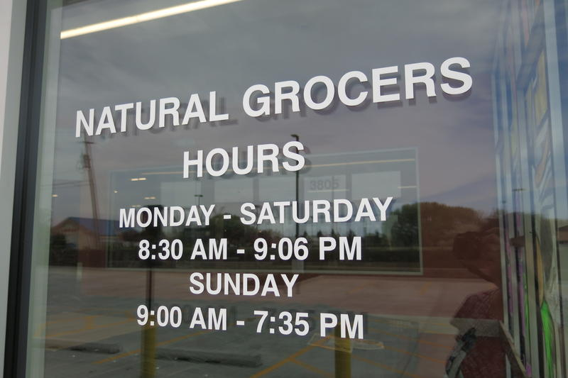 Store hours are Monday - Saturday, 8:30 am until 9:06 pm and Sunday 9 am until 7:35 pm.