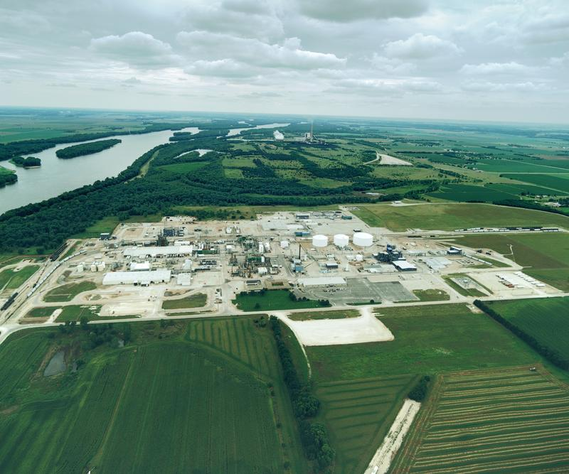Monsanto's plant in Muscatine