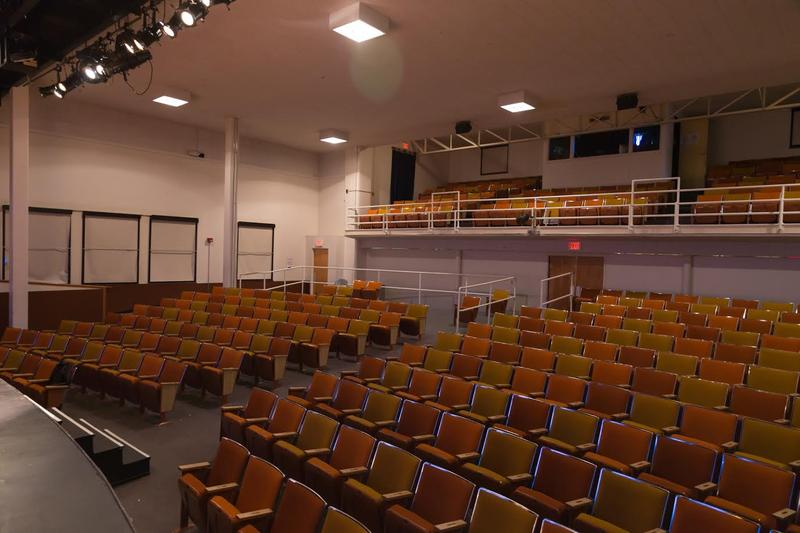 The theater will replace the current seats as part of the renovation.