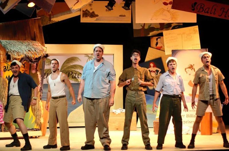 2016 production of South Pacific at the Clinton Showboat Theater